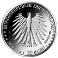 20 €Euro Silver Coins Federal Republic of Germany