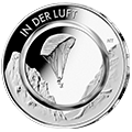 10 Euro€-commemorative coins with polymer ring
