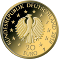 20 €Euro Gold Federal Republic of Germany
