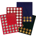 Velour inserts for coins